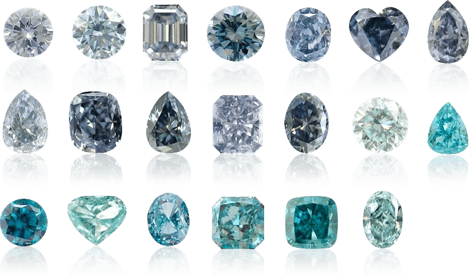 Blue Diamonds - blue diamonds