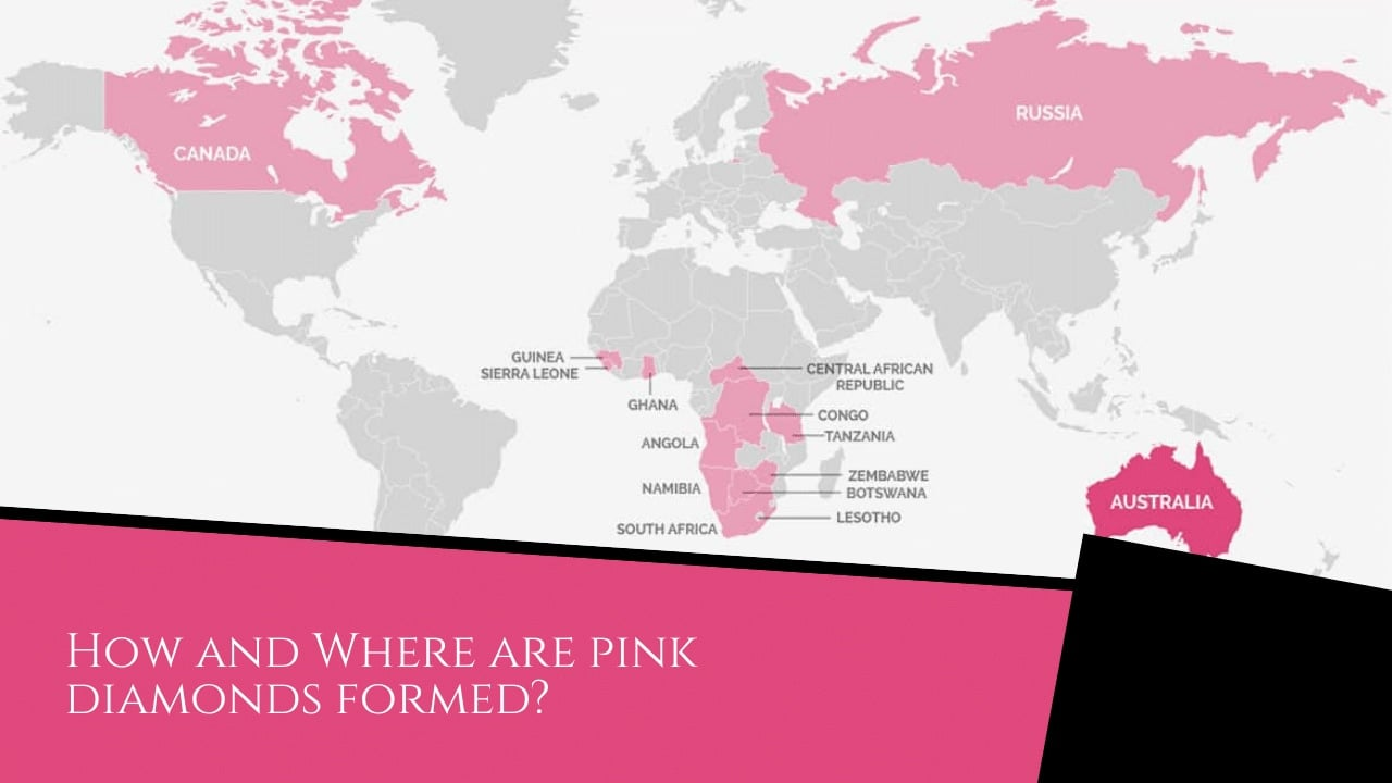 How are Pink Diamonds Formed - Pink Diamonds