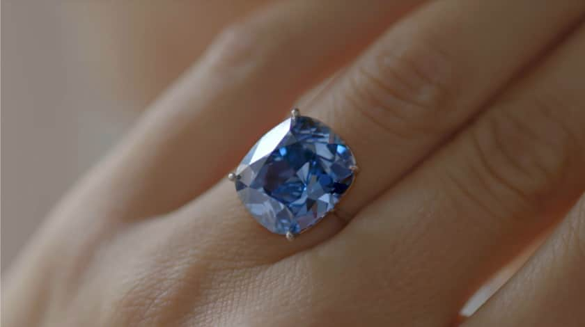 Everything You Need to Know About Natural Blue Diamonds - Blue Diamond