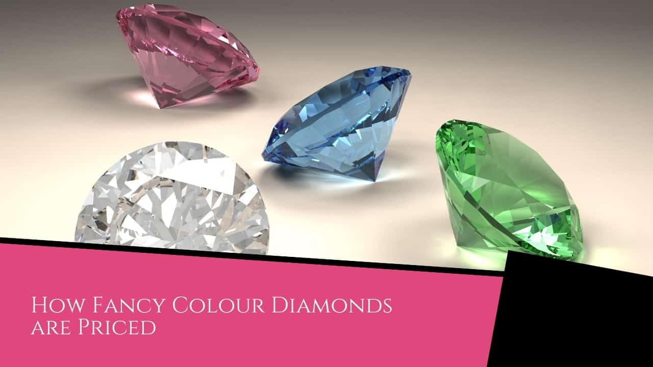 How Fancy Colour Diamonds are Priced