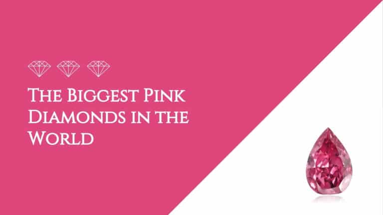 The Biggest Pink Diamonds in the World
