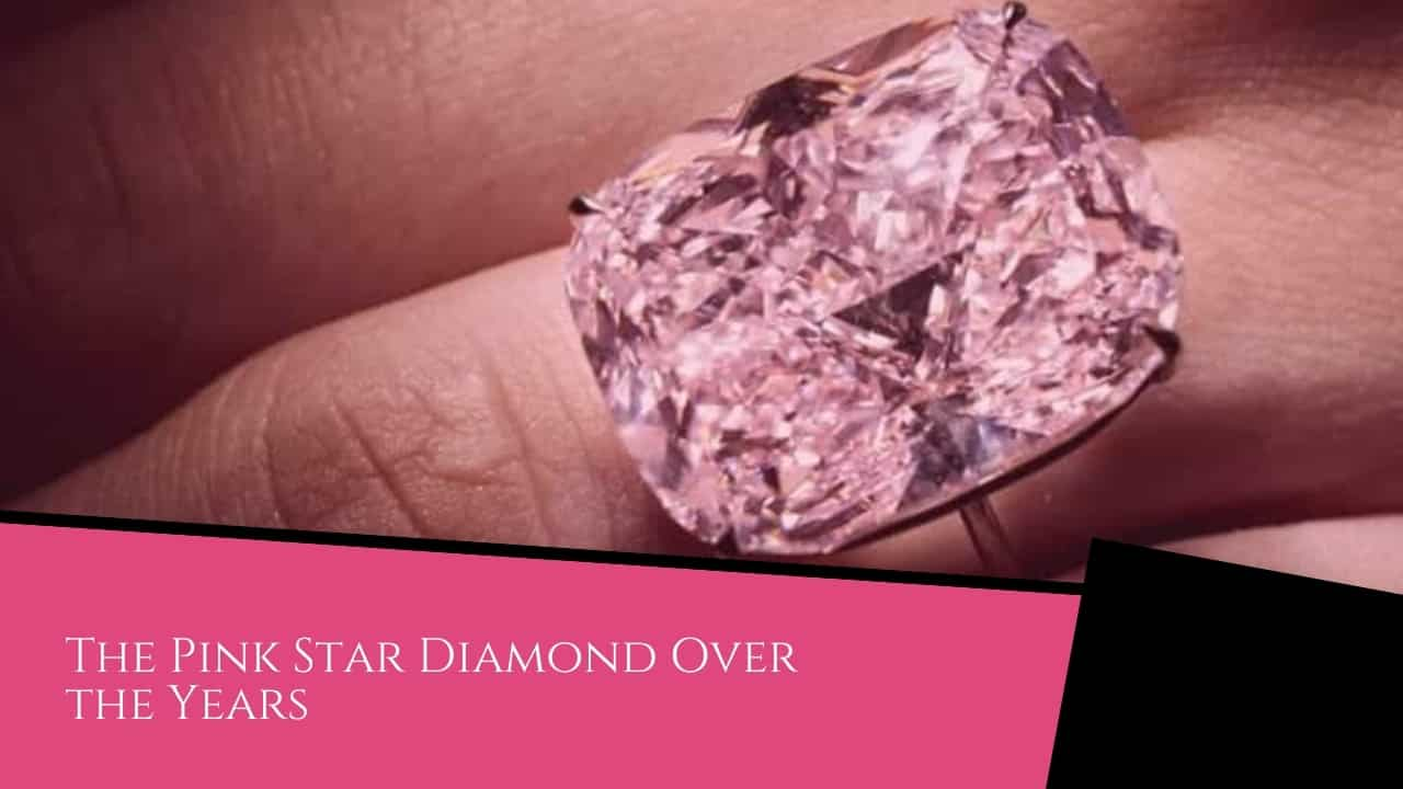 The Pink Star Diamond Over the Years