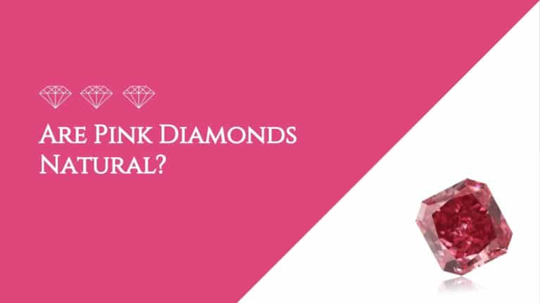 Are Pink Diamonds Natural?