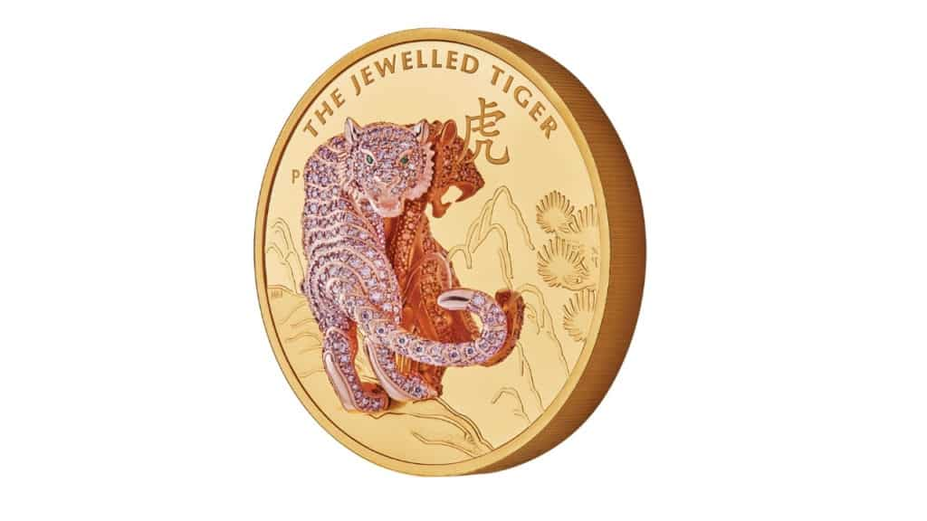 The Jewelled Tiger Coins