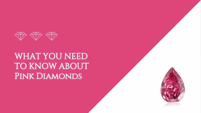 What you need to know about pink diamonds