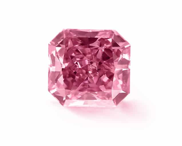 Radiant Shape Pink Diamond