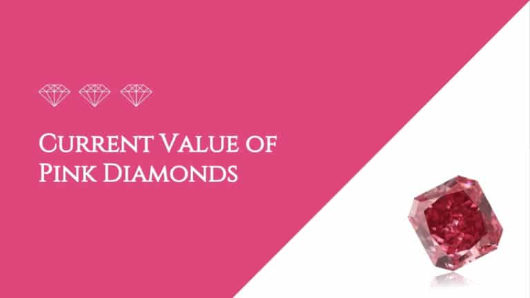 Current Value of Pink Diamonds