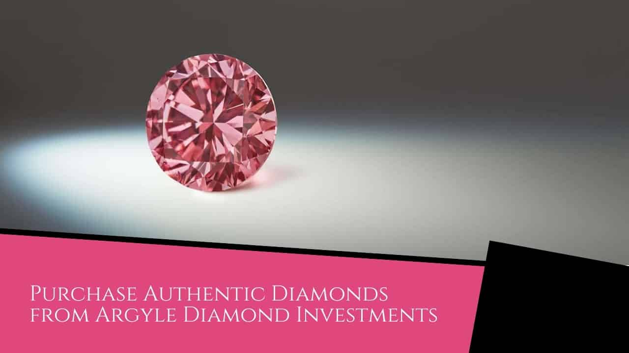Purchase Authentic Diamonds from Argyle Diamond Investments