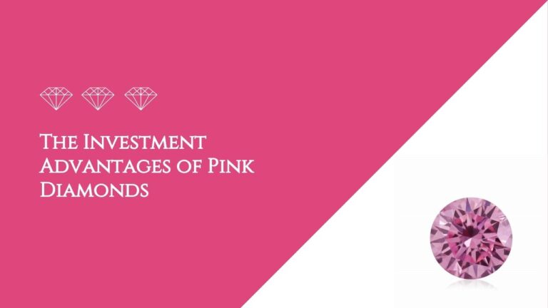 The Investment Advantages of Pink Diamonds
